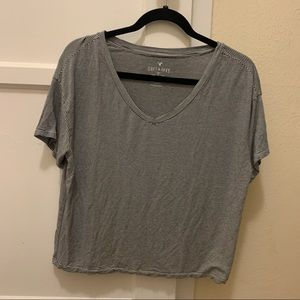 American Eagle soft and sexy stripped top